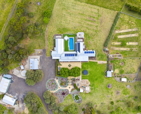 Old Mill Road - AMG Architects - Overhead