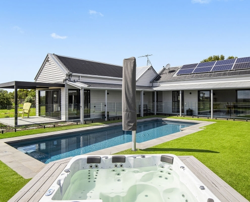 Old Mill Road - AMG Architects - Pool